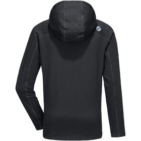 PYUA Crest-Y Veste à capuche zippée Homme, black melange